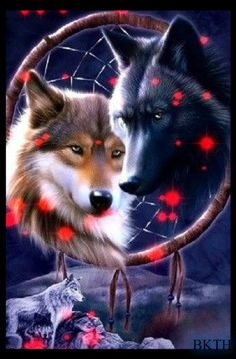 Dreamcatcher wolves.