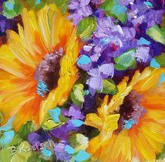 """""""Spring Sunshine"""" original fine art by Bobbie Koelsch"""