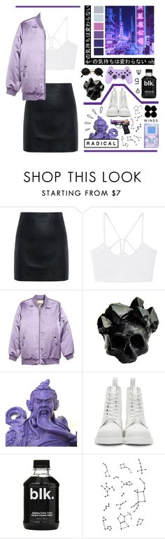 """Because of you, I'm becoming ruined // I wanna stop, I don't want you anymore"" by bluebirdi ❤ liked on Polyvore featuring McQ by Alexander McQueen, MANGO, Seed Design, H&M, Macabre Gadgets, Dr. Martens and Old Navy"