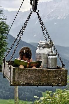 You can read a good book anywhere at all.