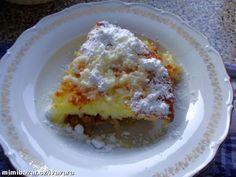 NADÝCHANÝ RÝŽOVÝ JABLKOVÝ NÁKYP Czech Recipes, What To Cook, Sweet Recipes, A Table, Grilling, Eggs, Yummy Food, Lunch, Restaurant