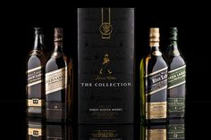 Johnnie Walker - The Collection by André Banyai, via Flickr