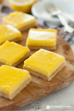 Lemon Bars Recipe plus 49 other Paleo dessert recipes