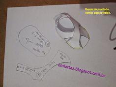 Nini Artes: Molde de Sapatinhos de Bebê