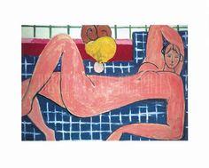 NUDO ROSA Matisse 1935