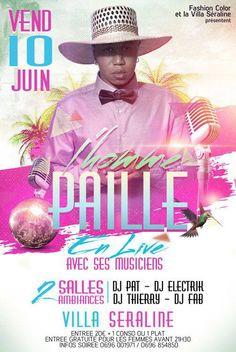 L'Homme Paille en live avec ses musiciens Villa Séraline Vous aussi intégrez vos événements dans l'Agenda des Sorties de www.bellemartinique.com C'est GRATUIT !  #martinique #concert #agenda #sortie #soiree #Antilles #domtom #outremer