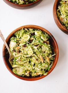 Honey Mustard Brussels Sprout Slaw | 33 Delicious No-Cook Dishes To Bring To A Holiday Party