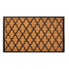 Amber Home Goods entrance rug features a classic design with ancient origins and is manufactured specifically for doors and entryways. Entrance Rug, Entrance Ways, Coir, Floor Mats, The Ordinary, Biodegradable Products, Gifts For Friends, Indoor Outdoor, Home Goods