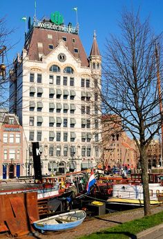 The White House of Rotterdam, Holland ~ The Netherlands - #Holland #travel #Rotterdam