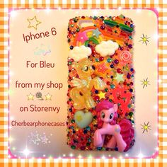 My little pony custom case from my shop on Storenvy-Cherbearphonecases- Check out my Instagram gallery @cchobbo to see all of my cases!