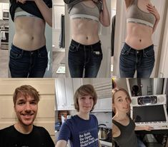 1 year on HRT timeline! So happy about everything that's changed! Male To Female Transformation, Transgender, Nice Tops, Timeline, 1 Year, Lgbt, Everything, How To Become, Change