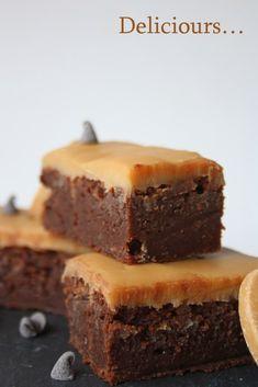 Deliciours...: Fondant au chocolat et ganache au Dulcey