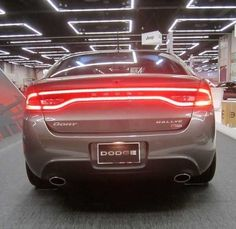 13-14 Dodge Dart Race Track LED REAR Tail Light Lamp Lighting Mopar GENUINE OEM #MOPAR