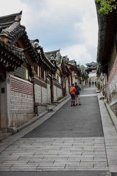유명한 가회동 골목길 -by KRramblr #NorthVillage #Seoul #SouthKorea