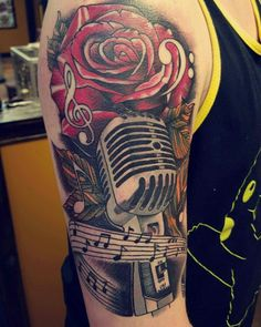 Music tattoo #music #musictattoo