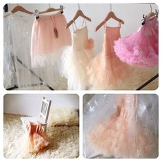 Frills and sparkles. Every little girls best friend.