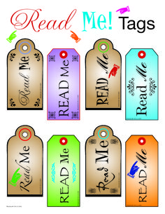 On February 22nd we kick off National Read Me Week! During this week, kids and adults are encouraged to pick up a book, magazine, Bible, or any reading material that piques their interest. We thought a fun way to promote reading would be to give you Read Me Tags to place around your classroom, library, church, school or organization to help inspire the people around you to take a moment to read.
