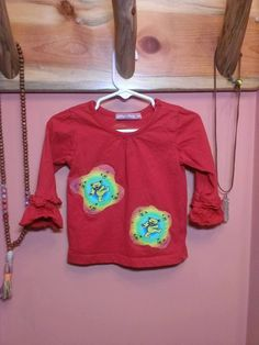 Toddlers Dancing Bear Girls Grateful Dead Hippie festival Top, size 18 months, OOAK, ready to ship, FREE gift wrap option by jamnjellybeans on Etsy