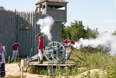 Colonial Fort Michilimackinac - Mackinaw City, Michigan