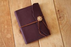 DIY – Leather notebook