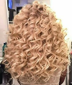 Spiral Curls And A Stylish Spiral Perm Throughout Inspirations Spiral Perm H. Spiral Curls And Big Curl Perm, Perm Curls, Short Permed Hair, Curly Perm, Long Curly, Long Permed Hairstyles, Curly Hair Tips, Wavy Hair, Curly Hair Styles