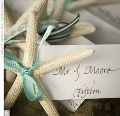 simple name tag place setting
