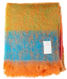 Items similar to Avoca Orange Ombre Mohair throw on Etsy Mohair Blanket, Mohair Throw, Bed Throws, Wool Throws, Orange Ombre, Sofa Throw, Woven Fabric, Gifts For Him, Knitted Hats