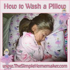 Every two years of your pillow is replaced by dust mites and their poo. Here is a simple method for how to wash your pillow. Homemade Cleaning Products, Cleaning Hacks, Dust Mite Allergy, Housekeeping Tips, Organisation Hacks, Clean Clean, Homekeeping, Dust Mites, Cleaners Homemade