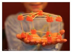 Build candy structures.