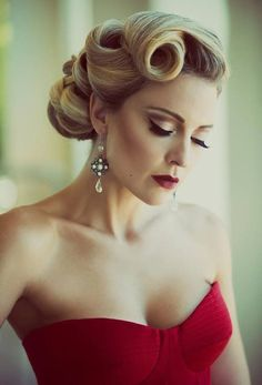 Top Trendy Updo Hairstyles 2015   Hairstyles 2015, Hair Colors and Haircuts