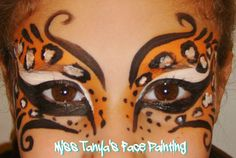 Leopard eyes - Miss Tanya's Face Painting