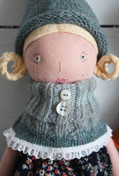 Majken Handmade Doll from Sweden via A Zetterlund