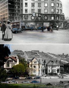 Blended photographs, San Francisco, Shawn Clover