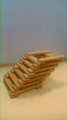 Kapla bouwplaat Plyo Box, Activities For Kids, Crafts For Kids, Block Area, Stem For Kids, Jenga, Plank, Construction, Decor