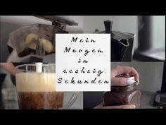 Meine Morgenroutine in sechzig Sekunden - YouTube Routine, Interior, Indoor, Interiors