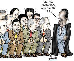 Joaquim Barbosa julga núcleo político do Mensalão