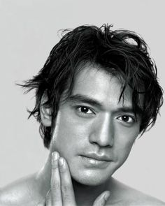 Hair.  Takeshi Kaneshiro.  Do an image search on this guy and you'll see.
