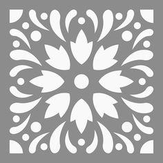 pochoir adh sif 20 x 20 cm faience etoile pochoir. Black Bedroom Furniture Sets. Home Design Ideas