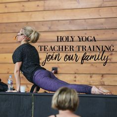 """""""You have been commissioned to spread the Gospel to all nations. We train you up to do exactly that and we do so through the modality of yoga."""" Brooke Boon. We are disciple makers, yoga teachers and Gospel preachers. Join our family. You have a purpose and a place here. Registering now for our January 2017 training. Go to  and download an informational packet. We offer interest free payment plans . #holyyoga #yogateachertraining #yogateachers #christianyoga #yogateachers…"""
