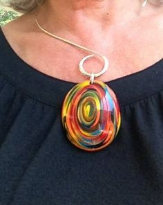 Vertigo swirls on German silver neckpiece  http://www.pinterest.com/sophiainsouthfl/my-creations/