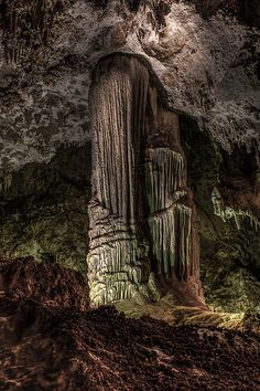 Veiled Statue, Carlsbad Caverns, Mexico