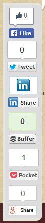 social floating sharing plug in