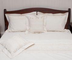 Lenjerie de pat din bumbac 100%, model cu dantelă - LNJ-58 - ArtDecor Bed Pillows, Pillow Cases, Modern, Pillows, Trendy Tree