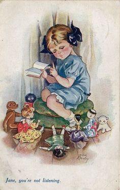 Illustration by Nina K. Brisley (English, 1898–1978)