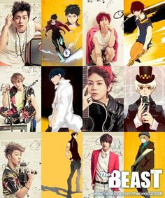 Junhyung's character in comic book series 'The Beast' chosen as the most charming