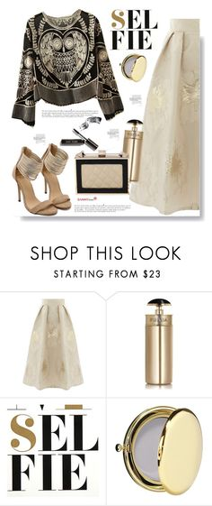 """""""Sammydress.com: Selfie"""" by hamaly ❤ liked on Polyvore featuring Prada, Nuuna, Estée Lauder, Anja, Bobbi Brown Cosmetics, shoes, ootd, bags, blouse and sammydress"""