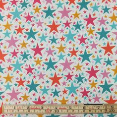 Sold in multiples of 0.5 metre Content: 100% cotton, quilting weight Width: 110cm (42