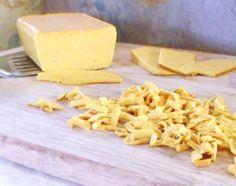 Shreddable, Meltable Vegan Cheddar Cheese