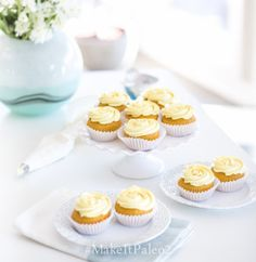 Luscious Lemon Cupcakes (and Frosting Tutorial) from Make it Paleo 2