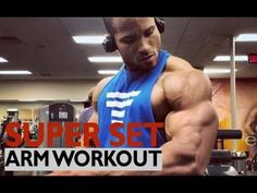 SUPERSET- ARM WORKOUT - YouTube